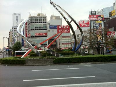 蒲田駅正面